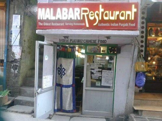 Malabar Restaurant : new signbord