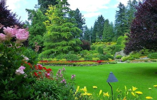 Butchart Gardens : B G