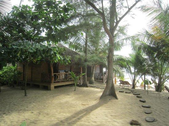 Ganesh Garden Beach Cabanas : Cabana