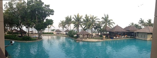 Conrad Bali: The view from an ocean view