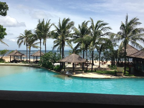 Conrad Bali: View from an ocean view room