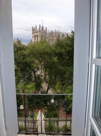 Best Western Hotel Le Guilhem: panorama dalla camera
