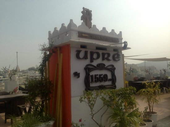Lake Pichola Hotel: Upre resturant on the roof top
