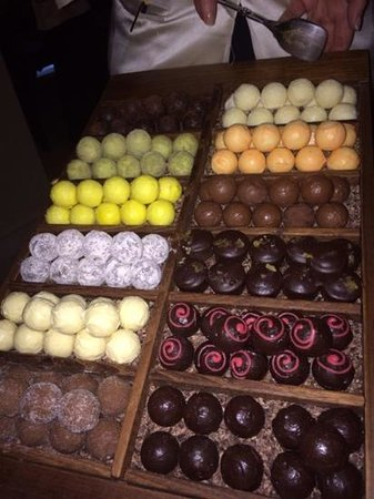 taku: Handmade chocolates to choose from