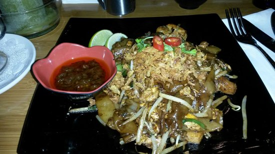 Malaysian restaurant Wau: Char kuew tiao