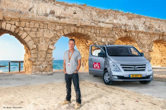 Ron Lev-Your Private Day Tour Guide in Israel: Caesarea - a city that Herod the Great dedicated to Caesar Augustus more than 2,000 years ago.