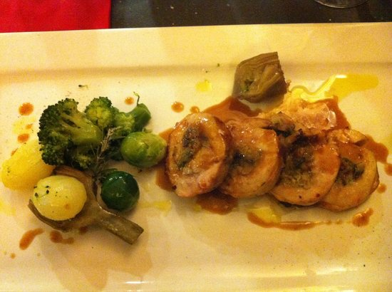 Osteria Piazzetta dell'Erba: Pigeon roll (can't remember the exact dish name)