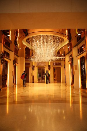 Harbour Grand Hong Kong : Elevator Hall next to Entrance Hall