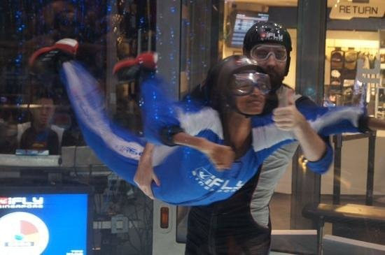 iFly Singapore : good flying experience