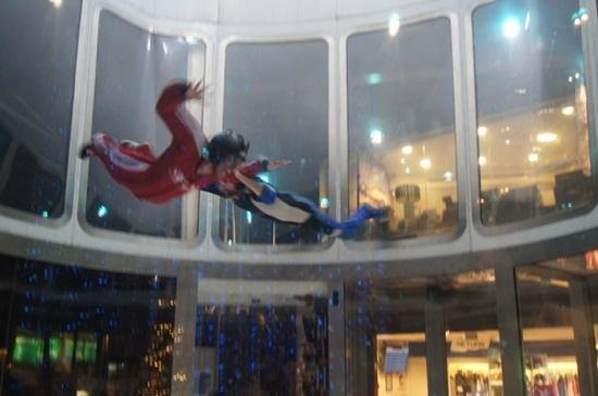 iFly Singapore : a thrill