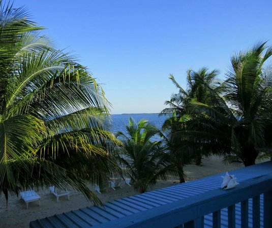 Maya Beach Hotel: Caribbean views