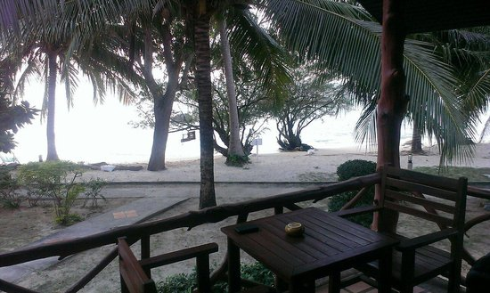 Sea Scene Resort : Vue du bungalow front beach
