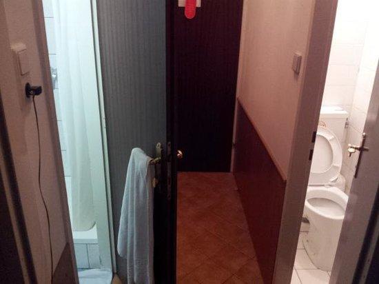 Hotel-Pension Bleckmann: bagno/ingresso/bagno