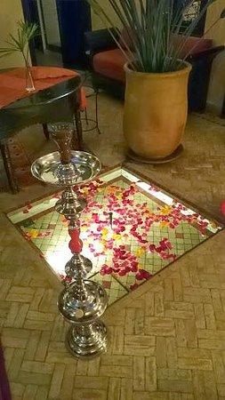 Riad Boussa : Cour interieur