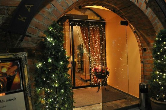 Narutis Hotel: Entrance