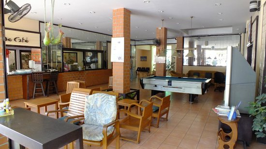 Cha-Ba Chalet Hotel : entrada hotel