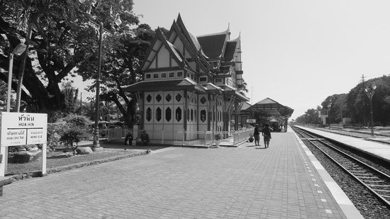 Cha-Ba Chalet Hotel: ferrocarril