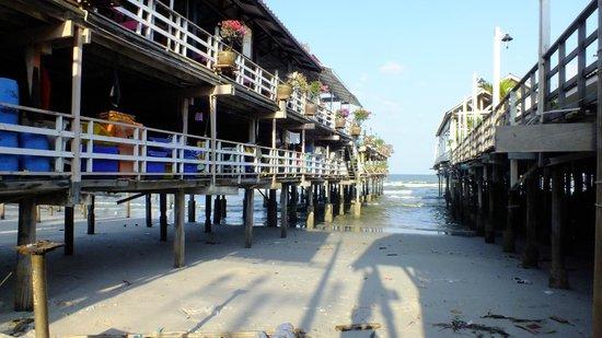 Cha-Ba Chalet Hotel: zona playas