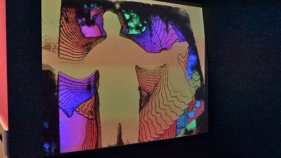 WonderWorks: Laser show based on your own body's movements.