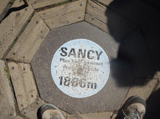 montee du Sancy : on est en haut