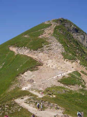 montee du Sancy : la montée à pieds