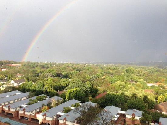 Holiday Inn Johannesburg-Rosebank : View from room 809
