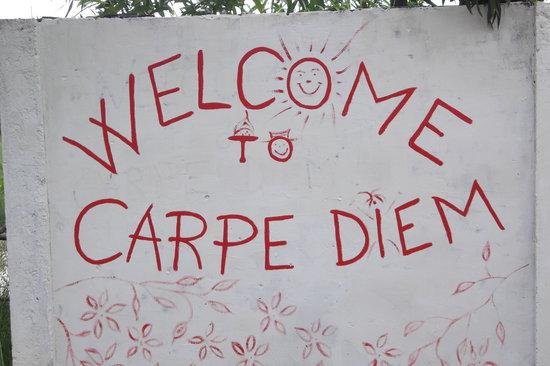 Carpe Diem: entry