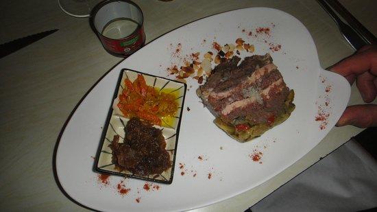 L'Intramuros : Joue de boeuf au Foie gras
