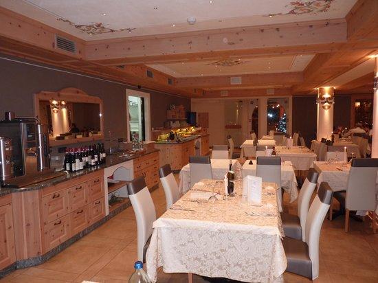 Hotel Alba: La sala ristorante
