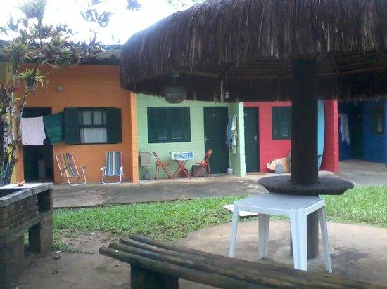 Itamambuca Eco Resort : Chalés Camping