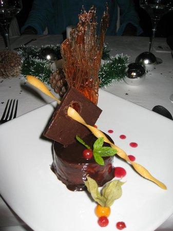 Preskil Beach Resort: Fantastic dessert on Christmas Eve