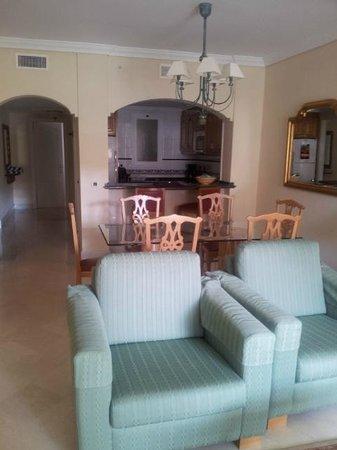 Marriott's Marbella Beach Resort : Living Room