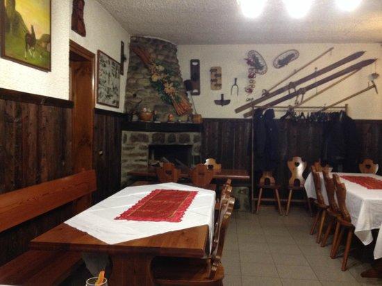 Province of Bergamo, Italie : Sala ristorante