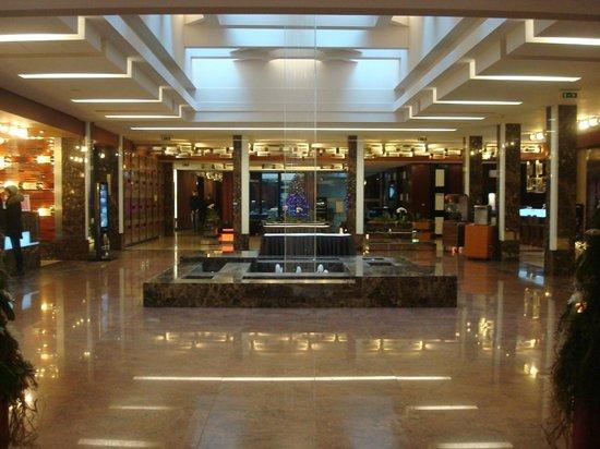 Hotel Grand Majestic Plaza Prague : Hall de l'hôtel