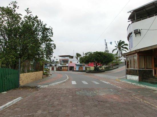 Hotel Silberstein: Street to the port