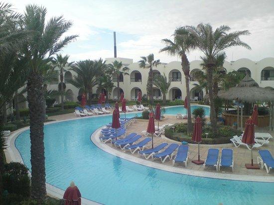 SENTIDO Djerba Beach: Der wunderschöne Poolbereich
