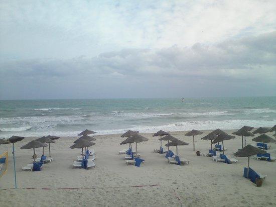 SENTIDO Djerba Beach: Das war die Aussicht von unserem Zimmer - TOLL!
