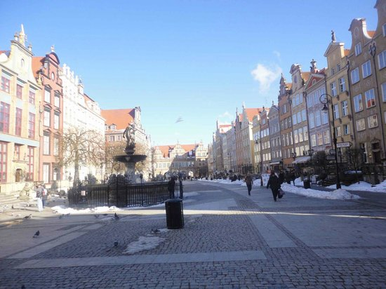 Dluga Street (ul. Dluga): Photo of Neptune Monument