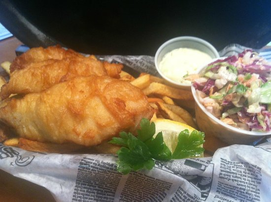The Chowda House: Signature Fish and Chips