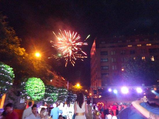 Faena Hotel Buenos Aires: Fogos no Ano Novo
