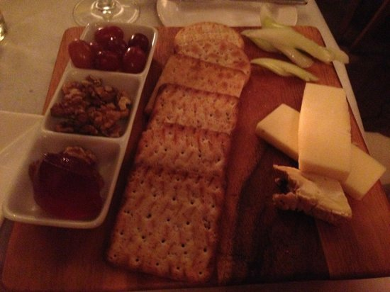 PJ's Bar & Grill - Covent Garden : Cheese board