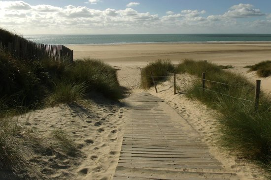 Cap Carteret: Walking down to one of the best beaches in the world