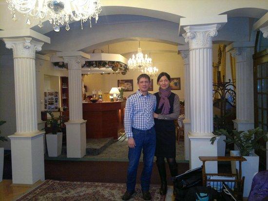 Louren Hotel: холл