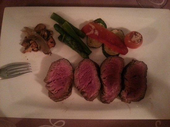 Coeur de Filet : Steak Chateau Brian.