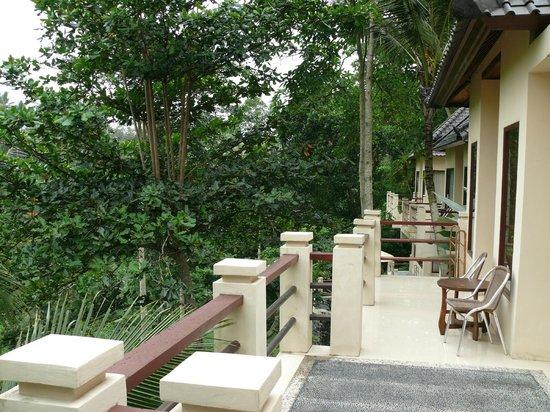Beji Ubud Resort: Вид из номера