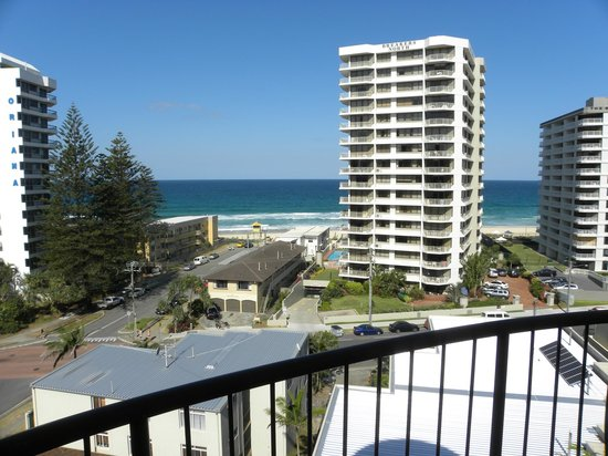 Warringa Surf Apartments: vista