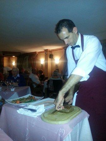 Coeur de Filet : Preparing our meal