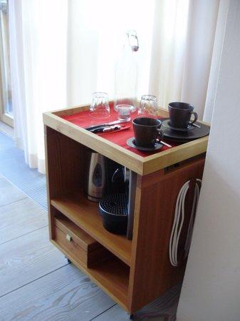 Seehotel Grundlsee: Kaffee und Tee im Zimmer