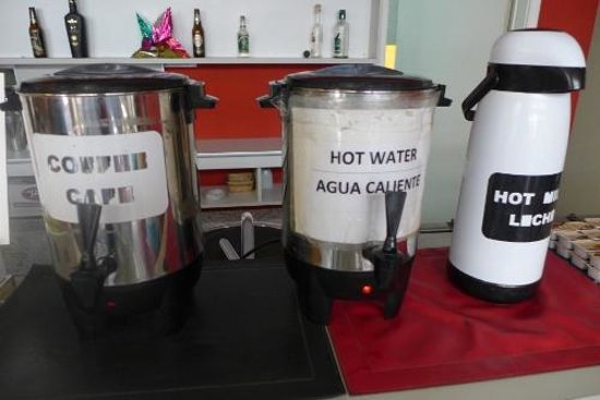 Circus Hostel & Hotel: Coffee was disappointing