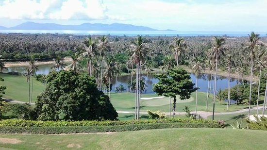 Santiburi Samui Country Club: View from the club house